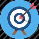 aim, bullseye, goal, objective, plan, target icon