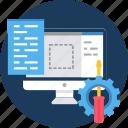 code, developer, html, language, setting, settings