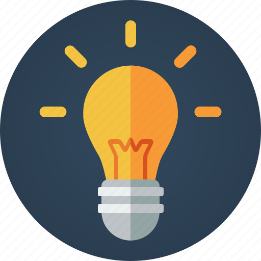 bulb, creative, creativity, idea, illumination, light, light bulb, revelation icon