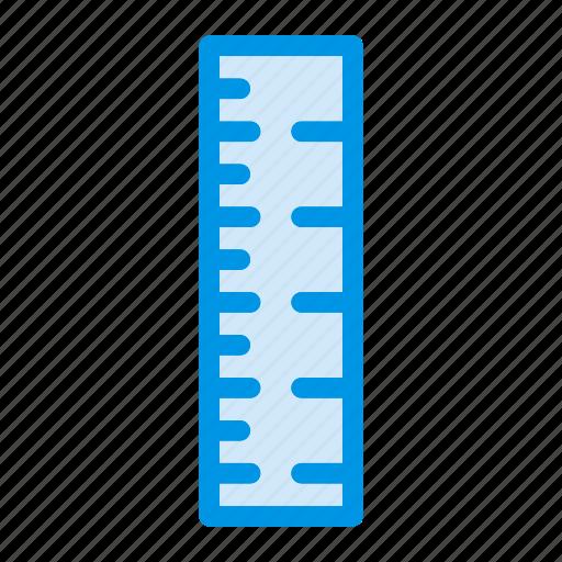 design, measure, ruler, scale icon