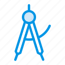 cone, design, geometry, shape icon