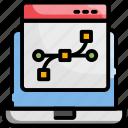 design, development, web, web design icon