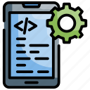 development, app, software icon