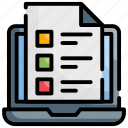 assessment, evaluation, usability icon