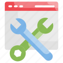 configuration, maintenance, preferences, settings, tools icon