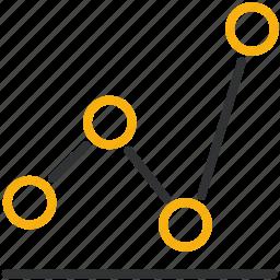 analytics, chart, design, development icon