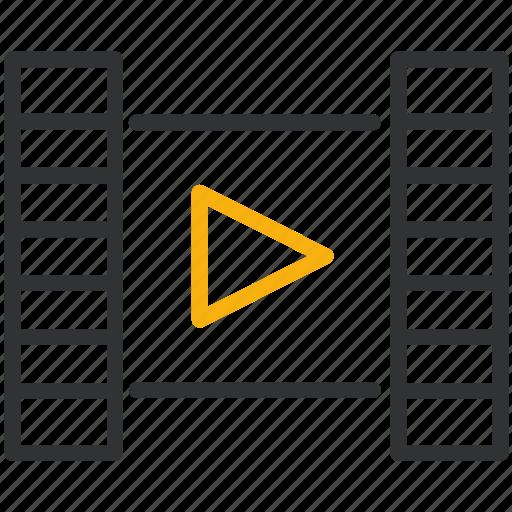 design, development, film, movie, video icon