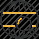development, globe, design, search icon