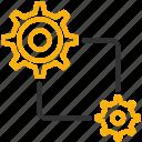 development, design, settings icon