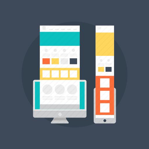 communication design, graphic design, graphic elements, web design, web page layout icon