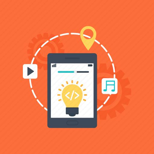 app based marketing, media manipulation, mobile advertising, mobile marketing, promotional media icon