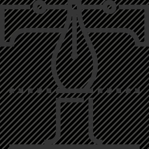 alphabet, branding, design, font, letter, typography icon