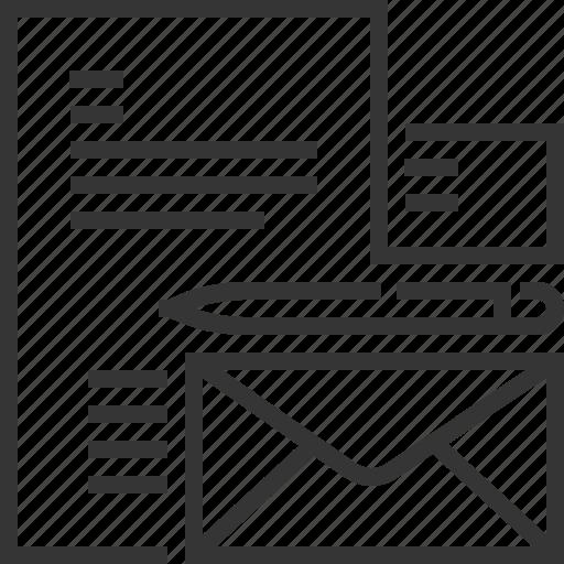 branding, business card, corporate identity, design, envelope icon