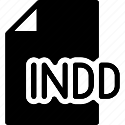 design, document, extension, file, indesign icon