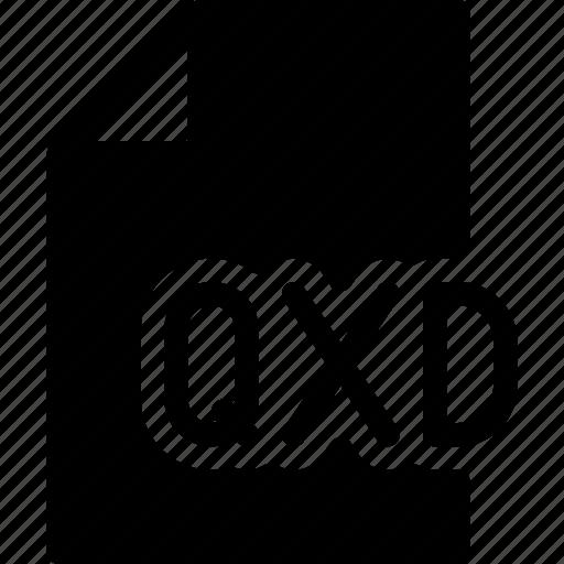 design, document, files, quarkxpress, qxd icon
