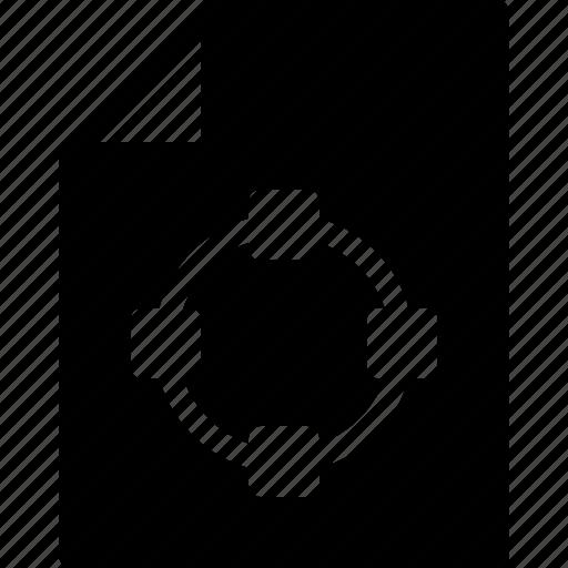 design, document, extension, file, shape icon