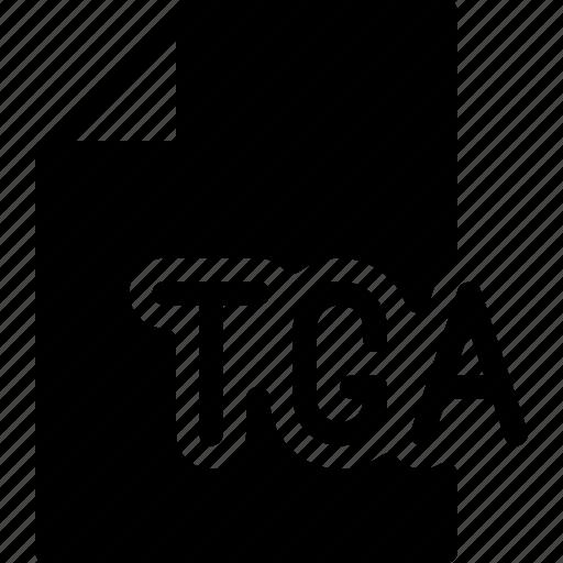 design, document, extension, file, tga icon