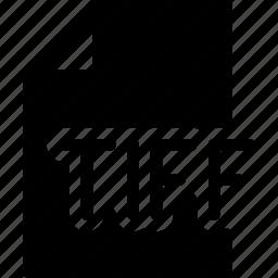 design, document, extension, file, tiff icon