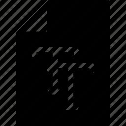 design, document, file, true, type icon