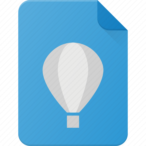 cdr, corel, design, draw, file, page, type icon