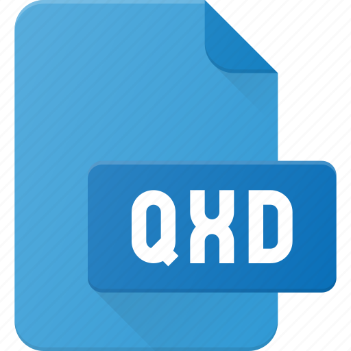 design, extension, file, page, qxd, type icon