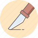 design, slice, tool icon