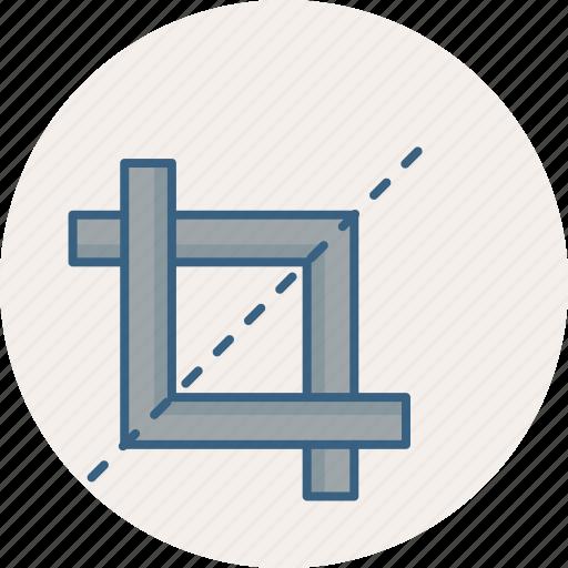 crop, edit, image, photo icon