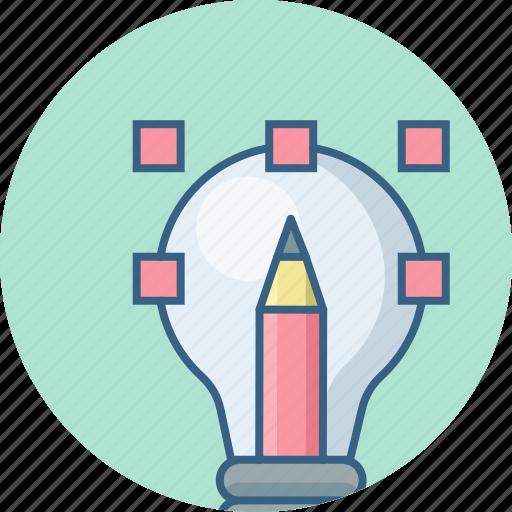 concept, creative, design, idea icon