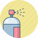 bottle, fragrance, perfume, spray icon