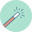 magic, magic wand, stick icon