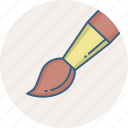brush, design, designing, drawing, graphic, paint, paint brush icon