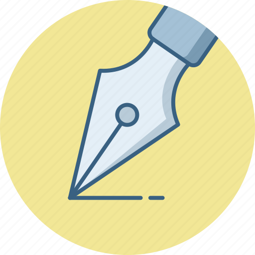 Nib, pen, writing icon - Download on Iconfinder