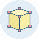 box, three d icon