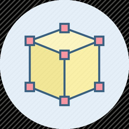 box, three d icon