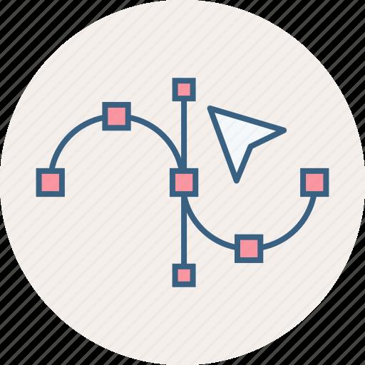 curve, design icon