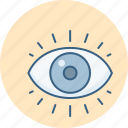eye, eye test, eyes, search, seo, view icon