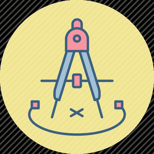 compass, geometric, geometry icon