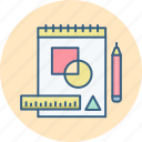 drawing, sketch icon