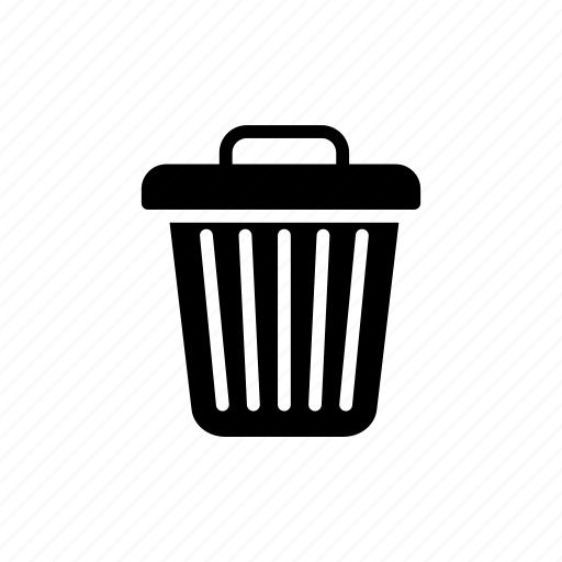 delete, dustbin, remove, trash icon