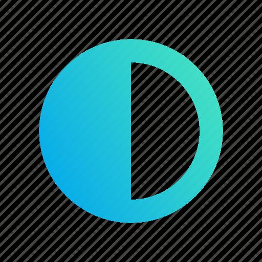 config, contrast, design, edit, gradient icon