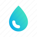 color, design, drop, droplet, gradient, select icon