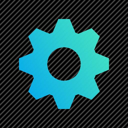 configuration, design, gradient, setup, tools icon