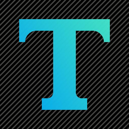 design, gradient, text, words, write icon