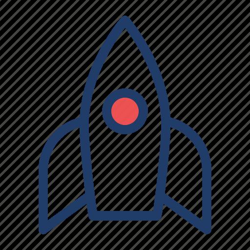 boost, launcher, spaceship, speedup icon