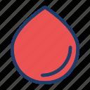aqua, drop, rain, water icon