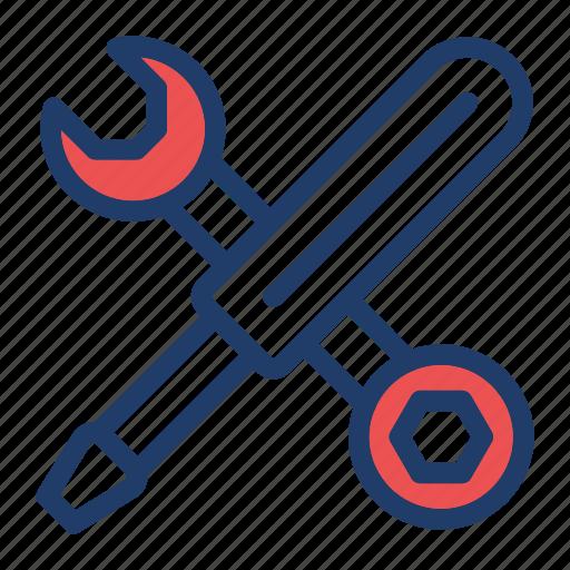 fix, screwdriver, settings, tools icon