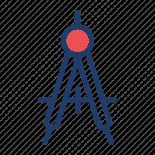 geometry, measure, protractor, tools icon