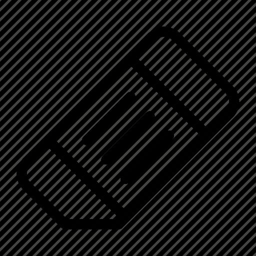 clean, eraser, remove, rubber icon
