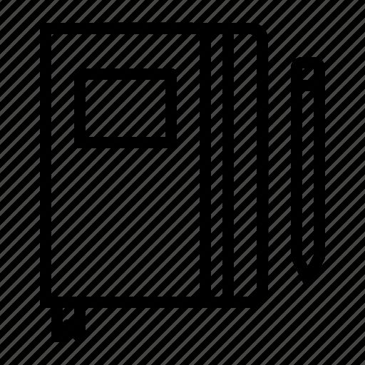 book, concept, design, notebook, sketch, sketchbook icon