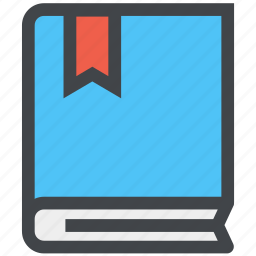 book, bookmarks, contacts, design icon